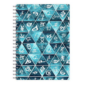 Shadowhunters Runes Mosaic Notebook - Fun Cases