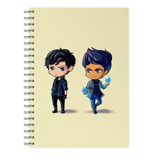 Malec Cartoons - Shadowhunters Notebook - Fun Cases