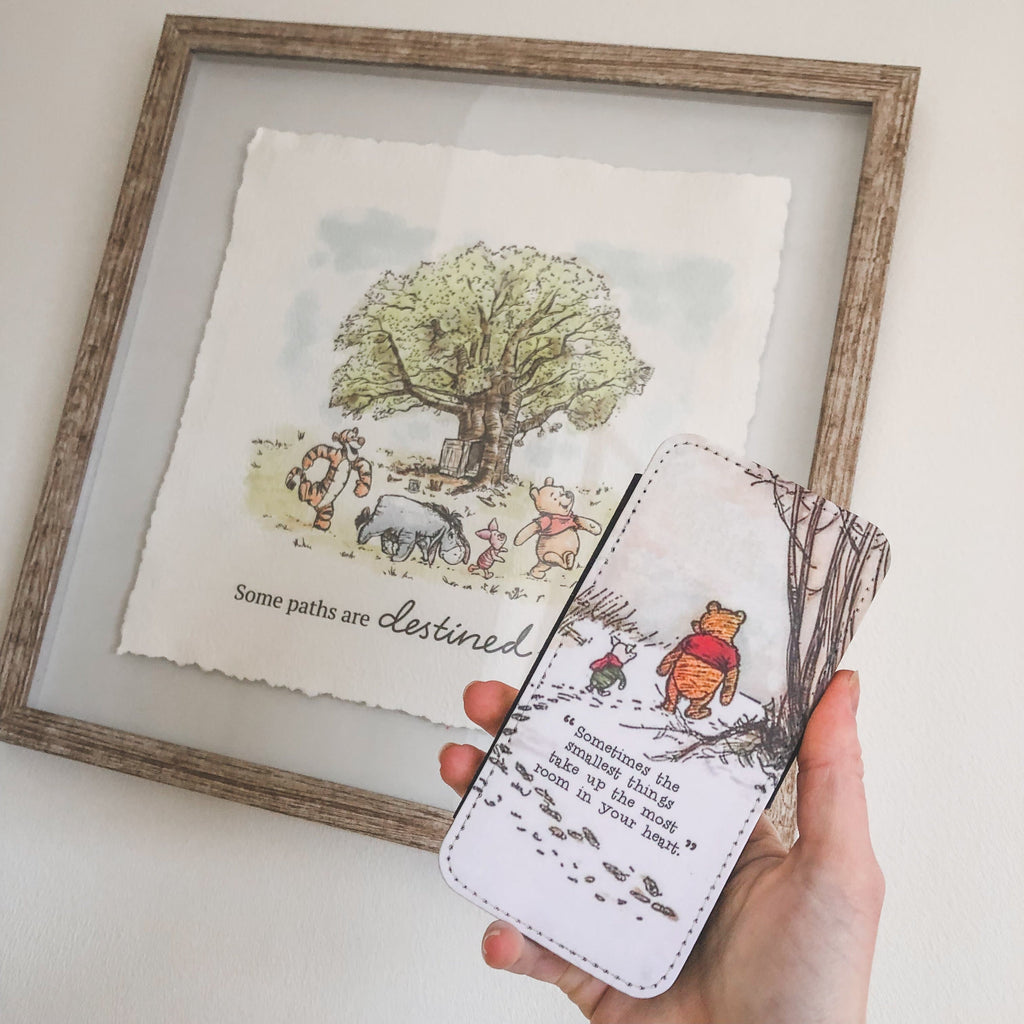 Sometimes The Smallest Things - Winnie The Pooh Flip Wallet Phone Case
