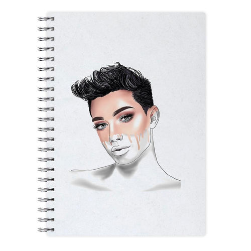 James Charles Sketch Notebook