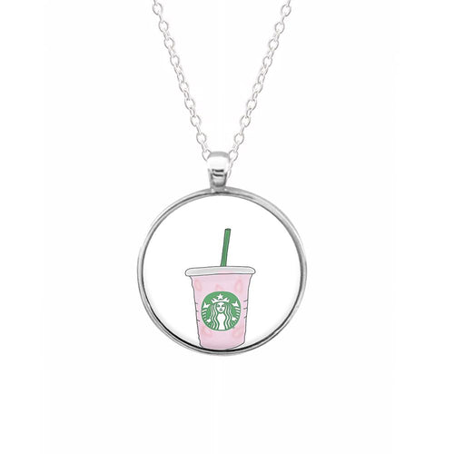 Starbuck Pinkity Drinkity - James Charles Keyring - Fun Cases
