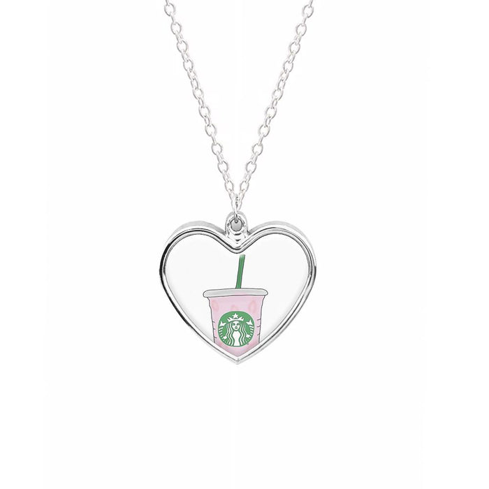Starbuck Pinkity Drinkity - James Charles Necklace