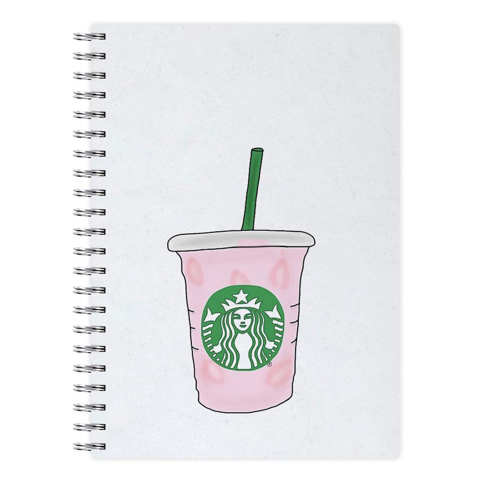 Starbuck Pinkity Drinkity - James Charles Notebook
