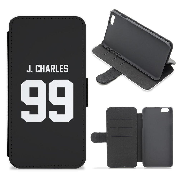 J Charles 99 - James Charles Flip / Wallet Phone Case
