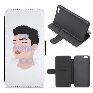 I'm Sister Shook - James Charles Flip / Wallet Phone Case
