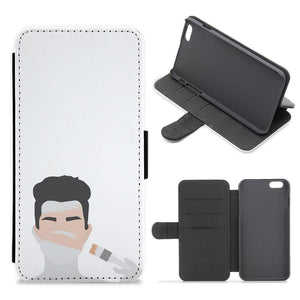 James Charles Painting Flip / Wallet Phone Case