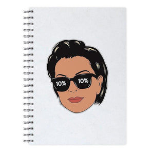 Kristen Mary Jenner Notebook - Fun Cases