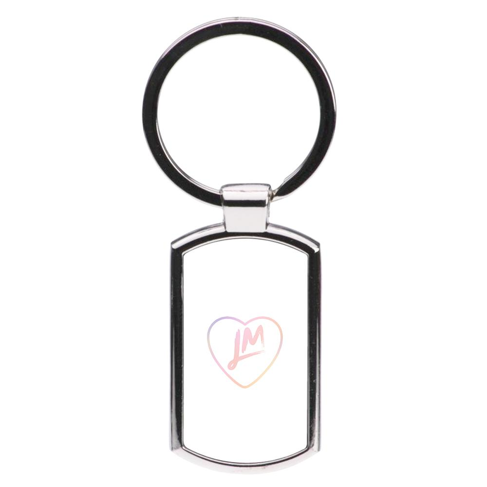 Little Mix Heart Luxury Keyring - Pastel