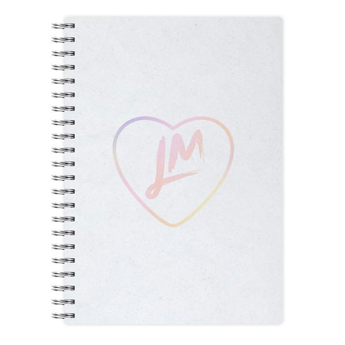 Little Mix Heart Notebook - Pastel - Fun Cases