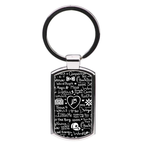 Little Mix Quotes Luxury Keyring