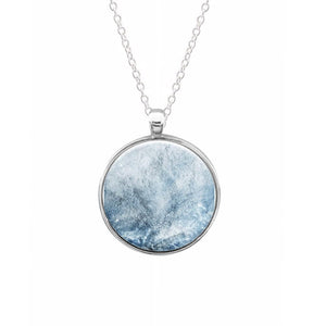 Sea Blue Marble Keyring - Fun Cases