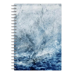Sea Blue Marble Notebook - Fun Cases
