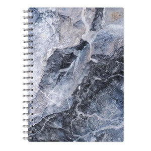 Grey and White Marble Notebook - Fun Cases