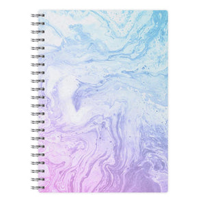 Purple Marble Notebook - Fun Cases