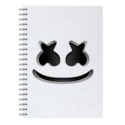 Marshmello Helmet Notebook - Fun Cases