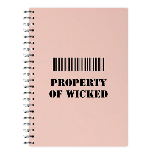 Property of Wicked - Maze Runner Notebook