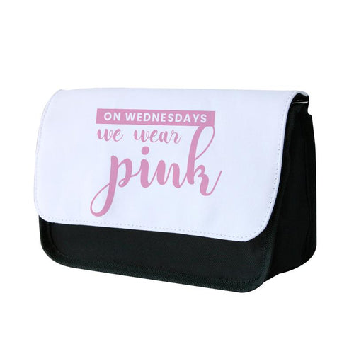 On Wednesdays We Wear Pink - White Mean Girls Pencil Case