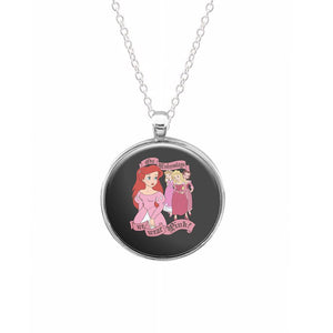 On Wednesdays We Wear Pink - Princesses - Mean Girls Necklace