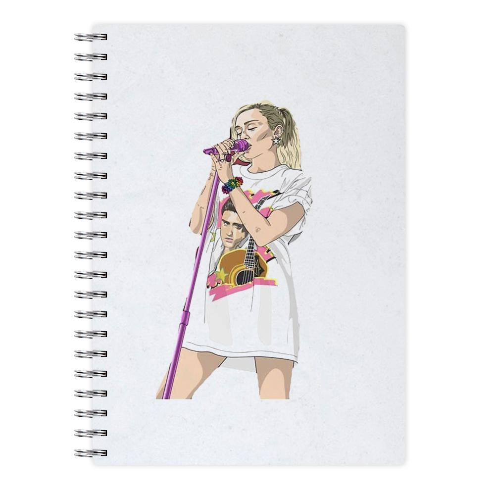 Miley Cyrus Sketch Notebook - Fun Cases