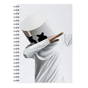 Marshmello Dab Notebook - Fun Cases