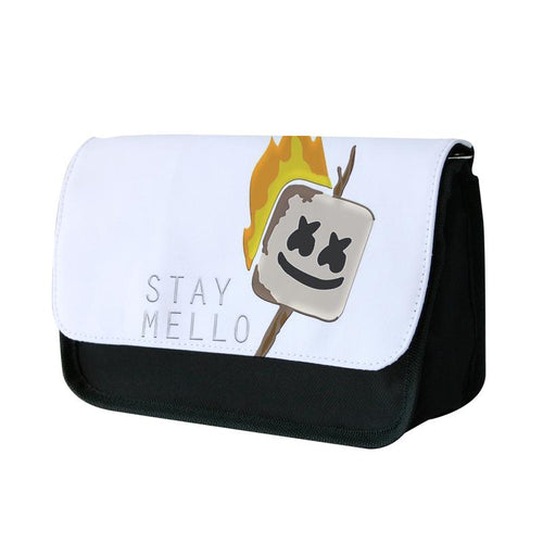 Stay Mello Marshmellow - Marshmello Pencil Case