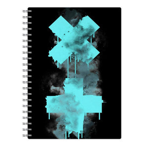 Marshmello Eyes Notebook
