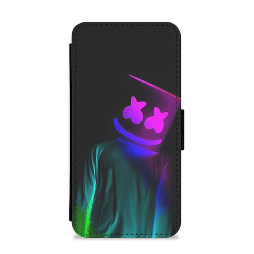 Marshmello In Lights Flip / Wallet Phone Case