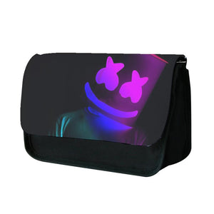 Marshmello In Lights Pencil Case