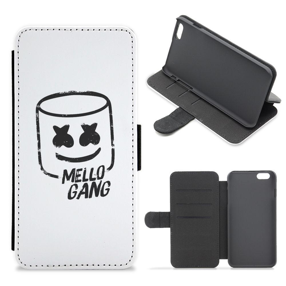 Mello Gang - Marshmello Flip / Wallet Phone Case