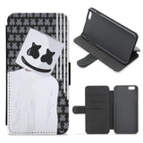 Marshmello Wallet Phone Case - Stars And Stripes - Marshmello Flip / Wallet Phone Case