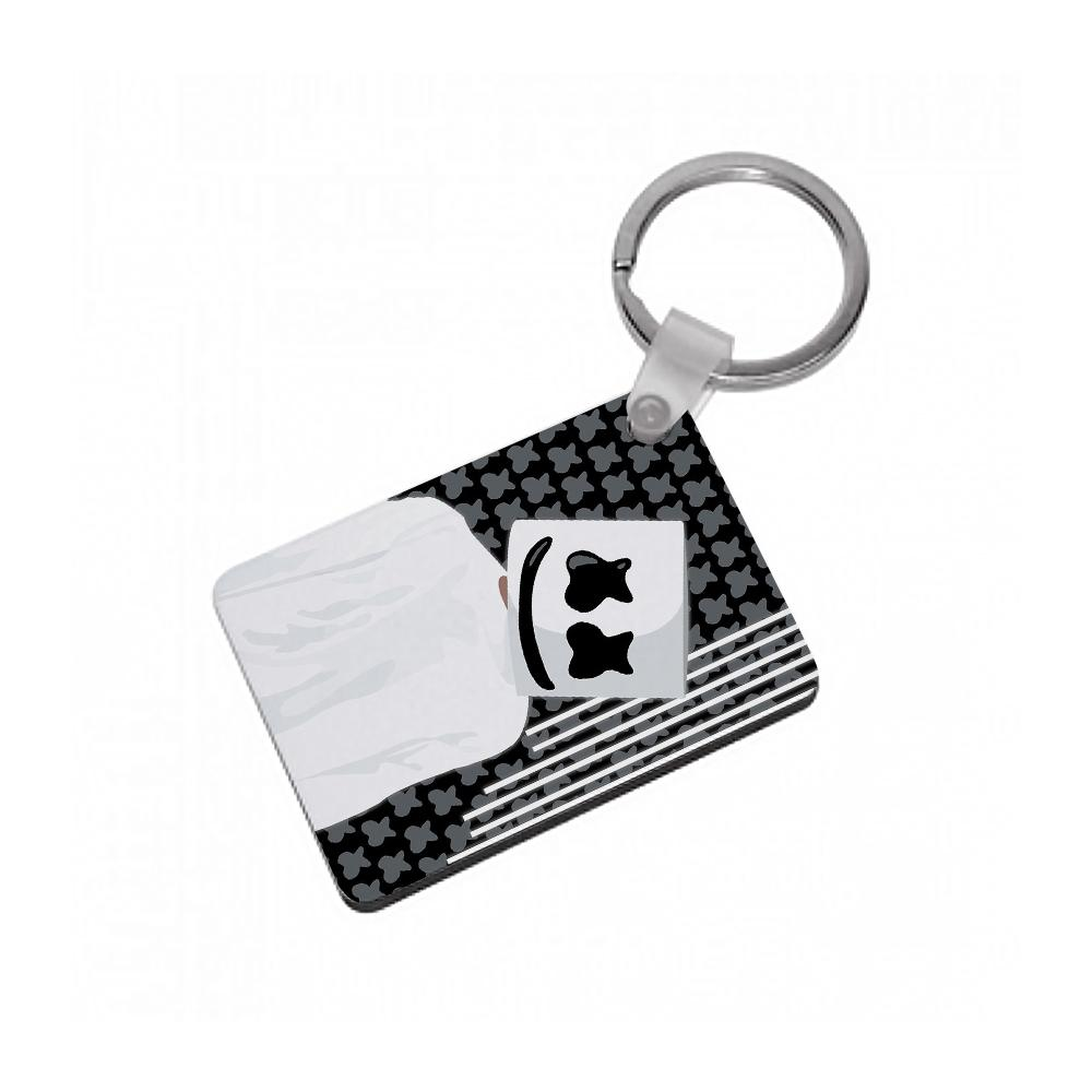 Stars And Stripes - Marshmello Keyring