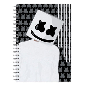 Stars And Stripes - Marshmello Notebook
