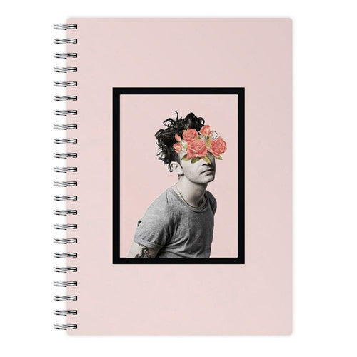 Matt - The 1975 Flower Cencored Notebook - Fun Cases