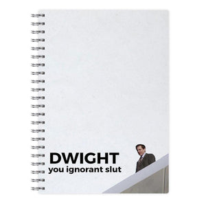 Dwight, You Ignorant Slut - The Office Notebook - Fun Cases