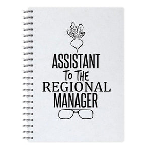 Assistant To The Regional Manager - Dwight Schrute - The Office Notebook - Fun Cases