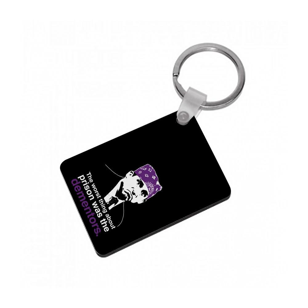 The Worst Thing About Prison Was The Dementors - The Office Keyring
