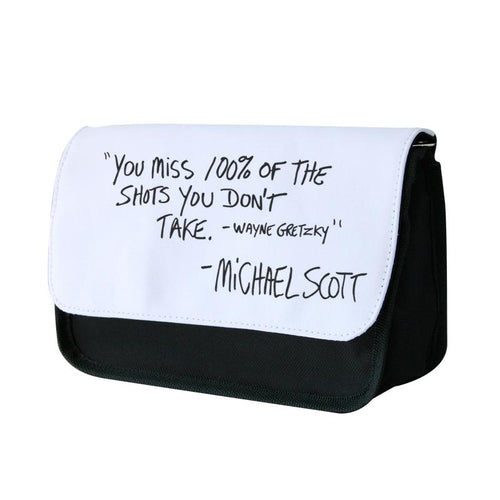 Michael Scott Quote - The Office Pencil Case