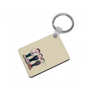 The Office Olympics Keyring