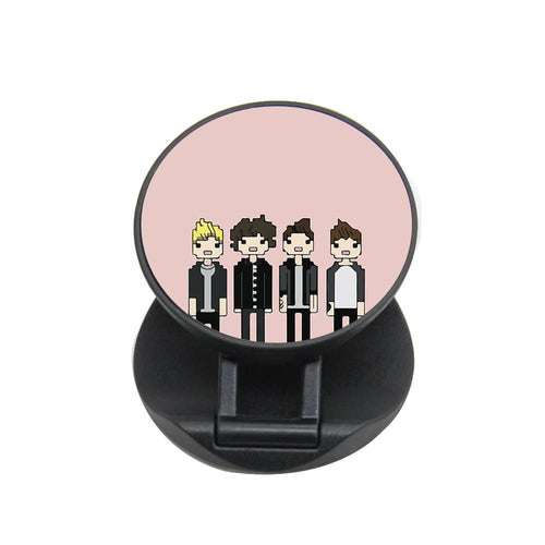 Cartoon One Direction FunGrip - Fun Cases