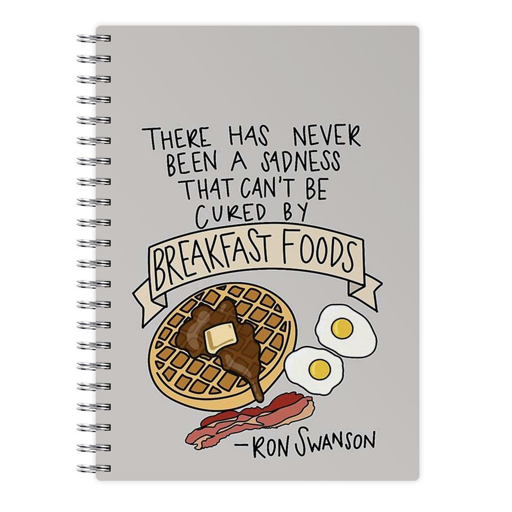 Breakfast Foods - Parks and Recreation Notebook - Fun Cases