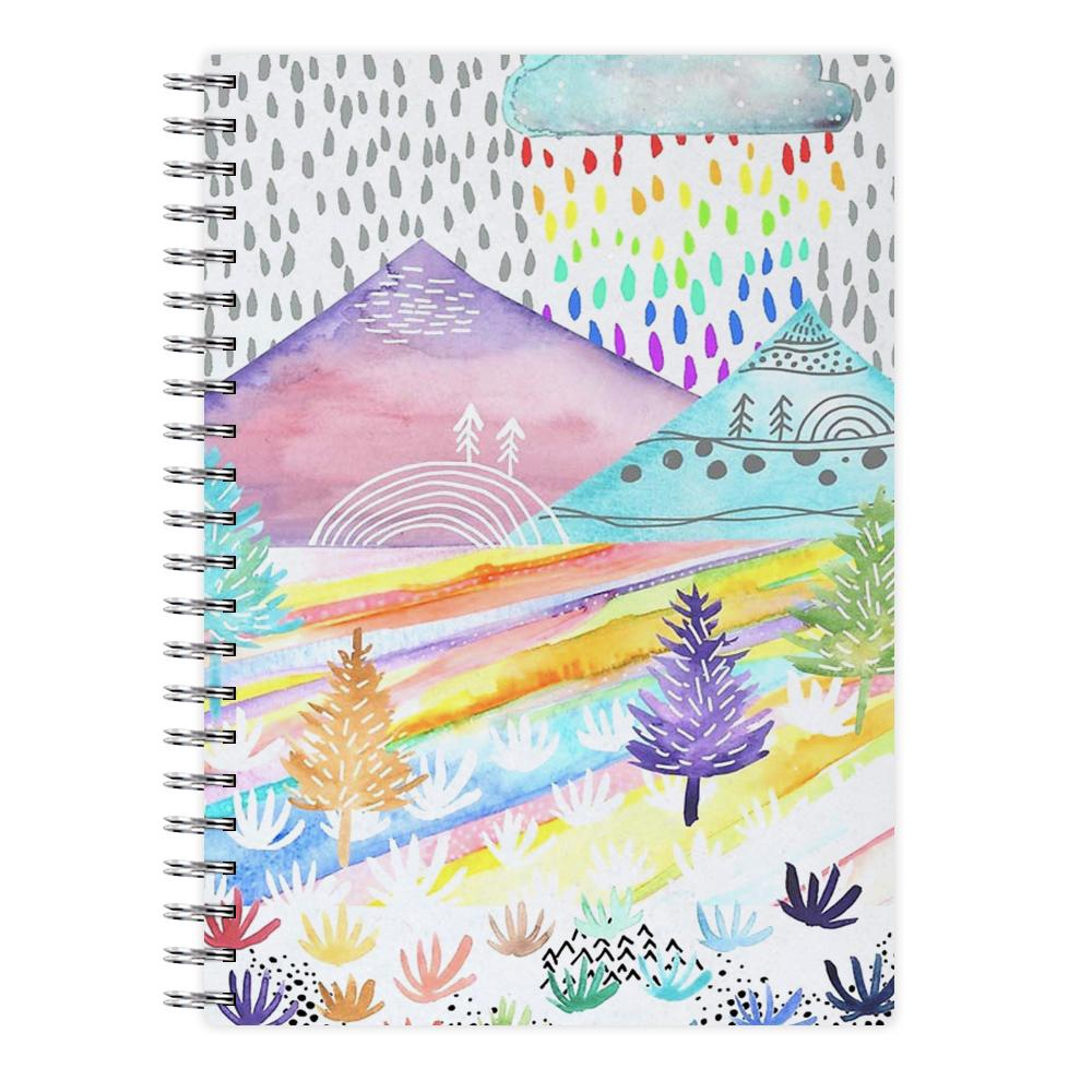 Watercolour Landscape Notebook - Fun Cases