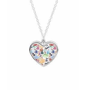 Disney Princess Pattern Necklace