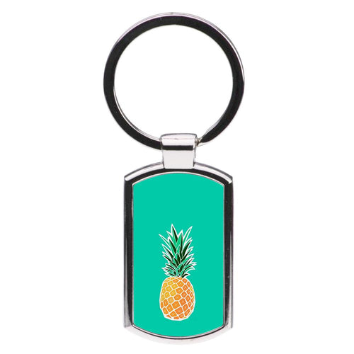 Cartoon Pineapple Luxury Keyring