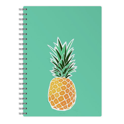 Cartoon Pineapple Notebook - Fun Cases
