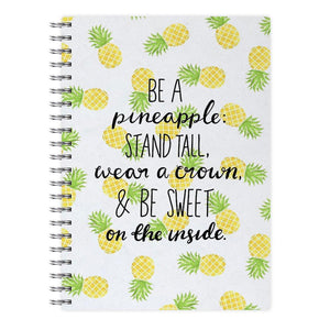 Be A Pineapple Notebook - Fun Cases