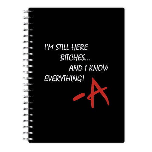 I'm Still Here - Pretty Little Liars Notebook - Fun Cases