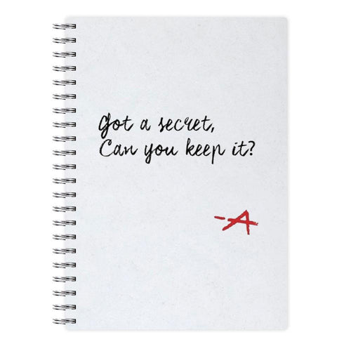 Got A Secret, Can You Keep It? - Pretty Little Liars Notebook - Fun Cases