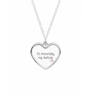 It's Immortality My Darlings - Pretty Little Liars Necklace