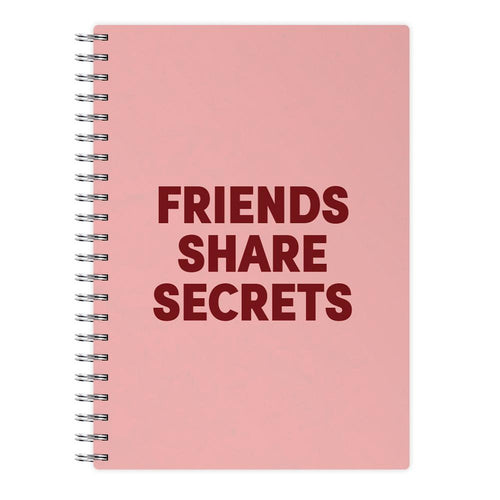 Friends Share Secrets - Pretty Little Liars Notebook