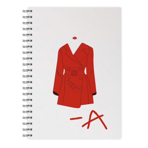 Red Coat - Pretty Little Liars Notebook